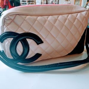 Handbags - Pink quilted purse